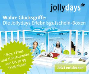Dieses Erlebnisportal hat ebenfalls eine Reihe von Geschenken in Form von Erlebnisboxen und Erlebnisgutscheinen im Programm.