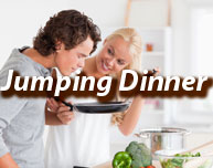 Jumping-Dinner