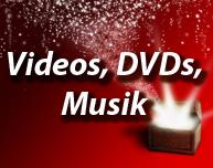 Videos, DVDs, Blue Ray, Musik